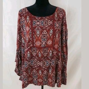 Womens NWT Avenue Clothing Sz 14/16 Blouse/Top